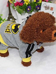 cheap -Dog Hoodie Jumpsuit Winter Dog Clothes Costume Down Cotton American / USA Sports XS S M L XL