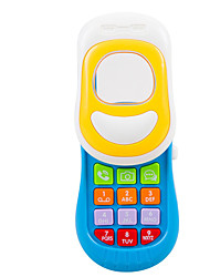 cheap -Dollhouse Accessory Toy Phone Baby Music Toy Smart intelligent Plastics Kid's Toy Gift