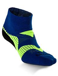 cheap -Compression Socks Athletic Sports Socks Running Socks 1 Pair Men's Women's Socks Ankle Socks Fitness, Running & Yoga Limits Bacteria Sports Running Sports Simple Cotton Chinlon Blue Green Gray