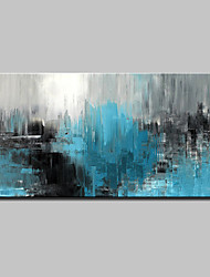 cheap -Oil Painting Hand Painted Abstract Abstract Modern Rolled Canvas Rolled Without Frame