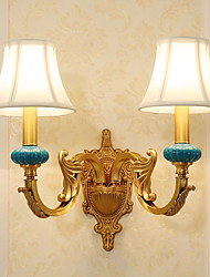 cheap -Tiffany / Simple / Country Wall Lamps & Sconces Metal Wall Light 110-120V / 220-240V 5W