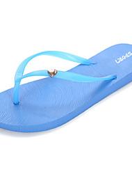 cheap -Women's Sandals PU(Polyurethane) Comfort Summer Black / Red / Blue