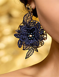 cheap -Women's Leaf Vintage Lace Earrings Jewelry Blue For Wedding Party Halloween Birthday