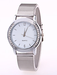cheap -Women's Wrist Watch Quartz Watches Analog Quartz Ladies Casual Watch Cool / Stainless Steel / One Year