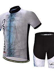 Недорогие -Муж. С короткими рукавами Велокофты и велошорты Велоспорт Наборы одежды Виды спорта Полиэстер Лайкра Одежда