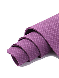 cheap -Yoga Mats Non Slip TPE For Pinky Violet Green