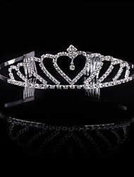 cheap -Crystal / Rhinestone / Alloy Tiaras / Headwear with Floral 1pc Wedding / Special Occasion / Party / Evening Headpiece