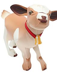 Недорогие -3D пазлы Бумажная модель Наборы для моделирования Овечья шерсть Животные Своими руками моделирование Классика Детские Универсальные Игрушки Подарок