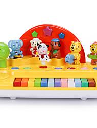 Недорогие -Аксессуары для кукольного домика Электронная клавиатура Экологичные Веселье Пластик Детские Игрушки Подарок