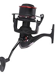 cheap -Fishing Reel Spinning Reel / Trolling Reel 4.1:1 Gear Ratio+13 Ball Bearings Hand Orientation Exchangable Sea Fishing / Spinning / Jigging Fishing - TP10000 / Freshwater Fishing / Bass Fishing