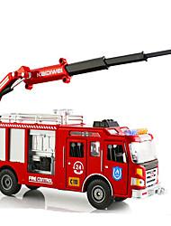 Недорогие -KDW Игрушечные машинки Модель авто Пожарные машины Выдвижной моделирование Металлический сплав Железо Сплав металла Металл для Детские Универсальные Мальчики