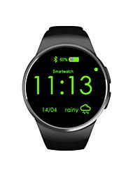cheap -Women's Fashion Watch Smartwatch Digital Silicone Black / White / Gold Digital Gold White Black