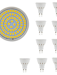 cheap -10pcs 5 W LED Spotlight 400 lm GU10 GU5.3 E26 / E27 80 LED Beads SMD 2835 Decorative Warm White Cold White 220-240 V / 10 pcs / RoHS