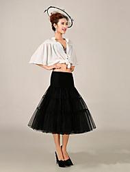 cheap -Wedding / Halloween / Anniversary Slips Nylon / Tulle / Polyester Knee-Length Basic / Classic & Timeless / Wedding with
