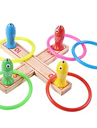 cheap -Magnet Toy Fishing Toy Stress Reliever Fish Magnetic Wooden For Kid's Boys' Girls'