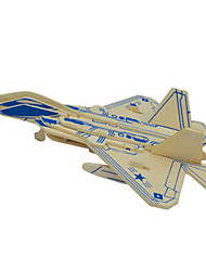 cheap -3D Puzzle Metal Puzzle Model Building Kit Plane / Aircraft DIY Natural Wood Classic Unisex Boys' Girls' Toy Gift