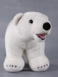 cheap -Teddy Bear Bear Polar bear Pillow Stuffed Animal Plush Toy Handcrafted lifelike Cute Toy Gift / Large Size