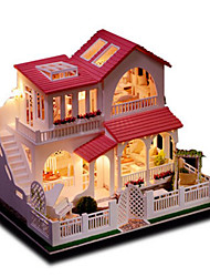 cheap -Model Building Kit DIY Furniture House Wooden Natural Wood Classic Unisex Toy Gift