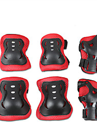 cheap -Protective Gear / Knee Pads + Elbow Pads + Wrist Pads for Ice Skating / Skateboarding / Inline Skates Scratch Proof / Anti-Friction / Shockproof 6 pack Outdoor clothing PVC(PolyVinyl Chloride)