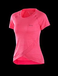 cheap -Women's Running Shirt Fitness, Running & Yoga Yoga Exercise & Fitness Running Sportswear Sweatshirt Top Rose Pink Activewear