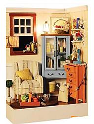 cheap -Model Building Kit DIY Famous buildings Furniture House Plastics Wooden Classic Unisex Toy Gift