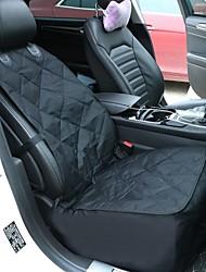 Недорогие -Кошка Собака Чехол для сидения автомобиля Водонепроницаемость Компактность Складной Однотонный Ткань Терилен Черный