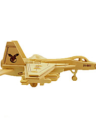 cheap -Jigsaw Puzzle Model Building Kit Wooden Model Plane / Aircraft DIY Simulation Wooden Kid's Unisex Toy Gift