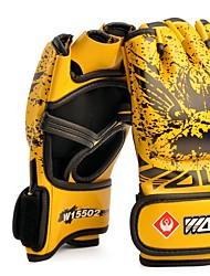 cheap -Boxing Training Gloves For Boxing Fingerless Gloves Safety Unisex - Black White Yellow