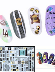 cheap -1pcs Other Nail Stamping Template Daily Fashion High Quality