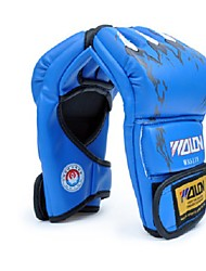 cheap -Boxing Training Gloves For Boxing Fingerless Gloves Safety Unisex - Black Red Blue