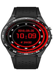 Недорогие -Муж. Смарт Часы Цифровой силиконовый Черный / Белый / Красный Цифровой Белый Черный Красный