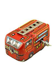 Недорогие -Игрушечные машинки Игрушка с заводом Пожарная машина Ретро Автомобиль Пожарные машины Сварочное железо Железо Винтаж Ретро Детские Универсальные Игрушки Подарок