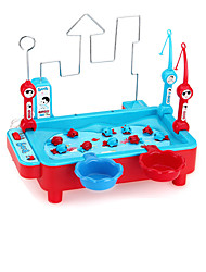 Недорогие -Рыболовные игрушки Вращающаяся Рыбалка Игрушка Рыбки совместимый Legoing Магнитный Электрический 2 игрока Мальчики Девочки Игрушки Подарок / Детские