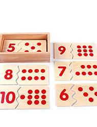 Недорогие -Образовательные игры с карточками Обучающие игрушки Монтессори Конструкторы Экологичные Образование Классика Мальчики Девочки Игрушки Подарок