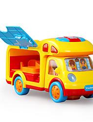 Недорогие -Игрушечные машинки Обучающая игрушка Пластик Электрический Музыка и свет Детские Игрушки Дары