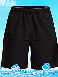 cheap -Men's Running Shorts Sports Baggy Shorts Bottoms Casual Leisure Sports Basketball Football / Soccer Gym Workout Quick Dry Solid Colored / Stretchy