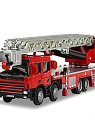 Недорогие -KDW Игрушечные машинки Модели автомобилей Мотоспорт Поезд Пожарная машина Шлейф Пожарные машины Универсальные Игрушки Подарок