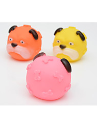 cheap -Chew Toy Squeaking Toy Dog Puppy Pet Toy 3 Squeak / Squeaking Rubber Gift