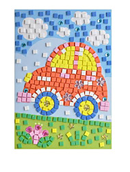 cheap -3D Puzzle Sticker Horse Diamond DIY Crystal EVA Kid's Toy Gift