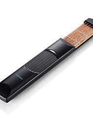 Недорогие -6 Электрическая гитара Музыкальный инструмент Портативные карман Веселье для начинающих Гитары Струнные инструменты Музыкальные инструменты Ammoon