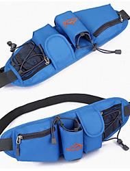 cheap -Running Belt Fanny Pack Front Backpack 1 L for Mountain Bike / MTB Marathon Running Camping Sports Bag Portable Build-in Kettle Bag Adjustable / Retractable 420D Nylon Running Bag