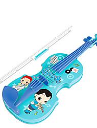 abordables -Accessoire de Maison de Poupées Violon Violon Instruments de Musique Simulation Plastique Enfant Jouet Cadeau