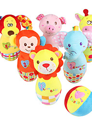 cheap -Balls Bowling Toy Stuffed Animal Educational Toy Bowling Game Stuffed Animal Plush Toy Cute Fun Classic Kid's Baby Perfect Gifts Present for Kids Babies Toddler