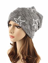 cheap -Women's Headwear Chic & Modern Knitwear Cotton Beanie / Slouchy Floppy Hat-Striped Pure Color Fall Winter Black Gray / Cute