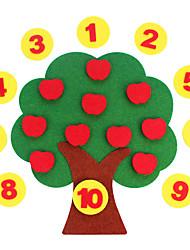 Недорогие -Стикеры Игрушки для обучения математике Обучающая игрушка Экологичные Классика Детские Игрушки Подарок