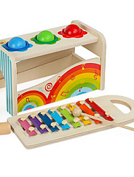 cheap -Xylophone Hammering / Pounding Toy Gopher Game Baby & Toddler Toy compatible Wooden Wood Legoing Fun Cool Education Boys' Toy Gift / Kid's