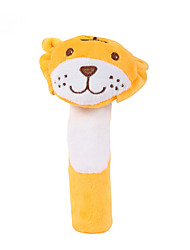 cheap -Finger Puppets Baby Rattle Stuffed Animal Plush Toy Tiger Cute Animals Imaginative Play, Stocking, Great Birthday Gifts Party Favor Supplies Baby