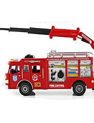 Недорогие -KDW Игрушечные машинки Модели автомобилей Шлейф Пожарные машины Металлический сплав Железо для Универсальные