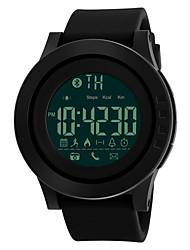 cheap -SKMEI Men's Sport Watch Military Watch Wrist Watch Digital Fashion Water Resistant / Waterproof Digital Black Blue Green / Two Years / Silicone / Japanese / Alarm / Calendar / date / day
