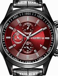 cheap -Men's Wrist Watch Quartz Stainless Steel Black 30 m Casual Watch Analog Classic Casual Fashion Dress Watch - Black Black / Red Black / White One Year Battery Life / ETA 377A